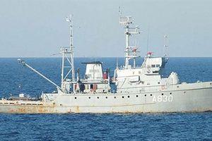 Chuyên gia Nga cười tàu chiến Ukraine như sắt vụn