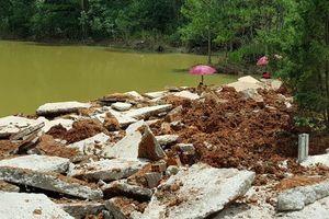 Băm nát hồ Tuyền Lâm Đà Lạt