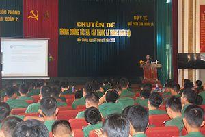 Quân đoàn 2 tổ chức tuyên truyền về phòng, chống tác hại của thuốc lá