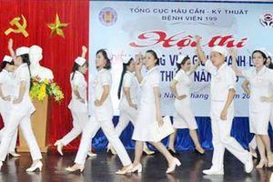129 thí sinh tham gia hội thi điều dưỡng viên giỏi, thanh lịch