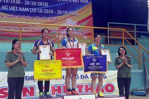 Giải cầu lông nữ lực lượng vũ trang thành phố Đà Nẵng kết thúc tốt đẹp