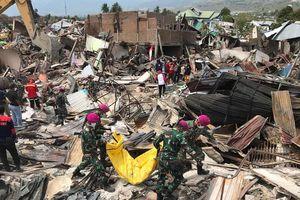Số người thiệt mạng trong vụ động đất và sóng thần tại Indonesia lên tới 1.558 người