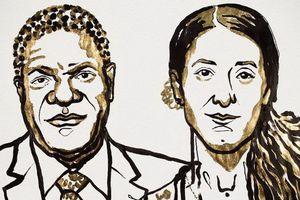 Nobel Hòa bình vinh danh hoạt động vì phụ nữ và chống buôn người