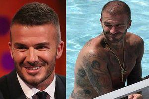 David Beckham điển trai phong trần ở tuổi 43