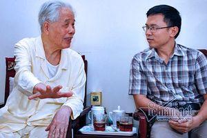 Cuộc trò chuyện quý giá với nguyên Tổng bí thư Đỗ Mười