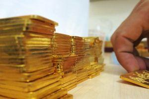 Giá vàng miếng tăng nhẹ