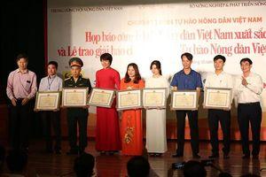 Công bố 63 'Nông dân Việt Nam xuất sắc 2018'
