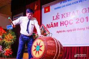Trường Cao đẳng Kỹ thuật Công nghiệp Việt Nam - Hàn Quốc khai giảng năm học mới