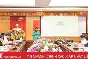 Nâng cao nghiệp vụ cho đội ngũ báo cáo viên Tỉnh ủy Hà Tĩnh