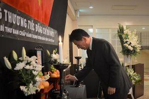 Lễ viếng nguyên Tổng bí thư Đỗ Mười tại thủ đô Tokyo