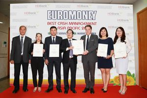 HDBANK nhận giải Cash Management 2018