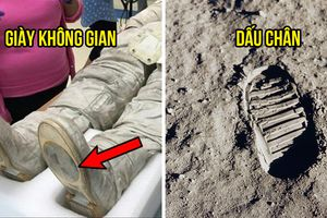'Thuyết âm mưu' mới: Đế giày của Neil Armstrong không khớp với dấu chân trên Mặt Trăng
