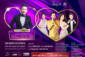 Đinh Hiền Anh sẽ hội ngộ cùng khán giả Hạ Long trong live show của Bằng Kiều