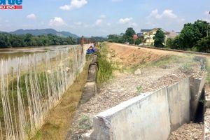 Thái Nguyên: Dự án cấp bách được thi công tiến độ 'rùa bò'