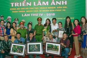 168 tác giả với 1.246 tác phẩm tham gia cuộc thi ảnh về Công an Thủ đô