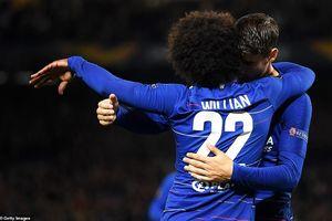 Chấm điểm Chelsea 1-0 Videoton: Willian 'dọn cỗ' giúp Morata khai nòng