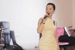 Ca sĩ Phạm Thu Hà chuẩn bị kỹ càng cho liveshow đầu đời