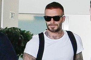 David Beckham xuất hiện nổi bật ở sân bay với vẻ điển trai, lịch lãm