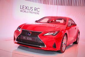 Cận cảnh Lexus RC 2019 vừa ra mắt tại Paris Motor Show 2018