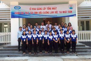 Quảng Ngãi: Khai giảng lớp tiếng Nhật miễn phí cho 24 cựu HSSV