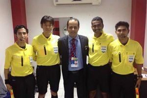 Trọng tài số 1 Malaysia thổi trận tranh suất trụ hạng V.League 2018