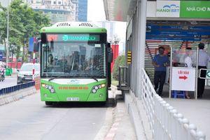Từ 10/10, thử nghiệm thẻ vé điện tử trên tuyến buýt nhanh