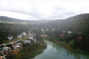 Xử lý công trình trái phép ở thắng cảnh quốc gia hồ Tuyền Lâm Đà Lạt