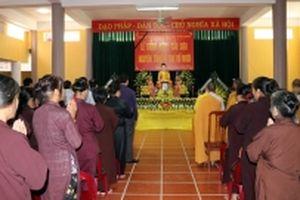Phật tử tại Tuyên Quang cầu siêu, tưởng niệm nguyên Tổng Bí thư Đỗ Mười