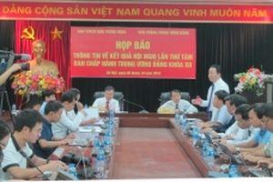 Họp báo thông tin về kết quả Hội nghị lần thứ tám Ban Chấp hành Trung ương Đảng khóa XII