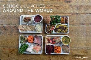 Khám phá bữa trưa của học sinh trên khắp thế giới