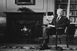 Hình ảnh hiếm có về cựu Tổng thống Mỹ 94 tuổi từng đoạt giải Nobel