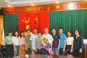 Người đồng sáng lập Quỹ học bổng Watanabe - Kanda thăm các cựu sinh viên ĐH Thái Nguyên