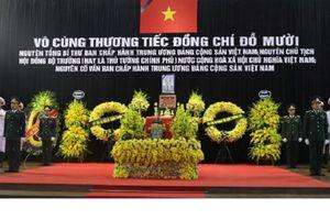 Lễ Quốc tang nguyên Tổng Bí thư Đỗ Mười