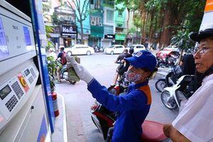 Giá xăng bắt đầu tăng mạnh trong ngày hôm nay