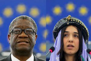Nobel Hòa bình cho hoạt động chống bạo lực tình dục