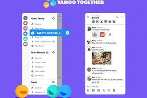 Yahoo bất ngờ tung ra công cụ trò chuyện Together hoàn toàn mới