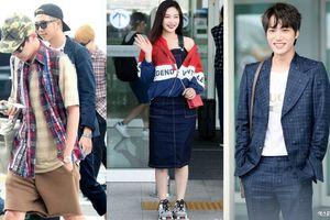 BTS, Joy và loạt sao Hàn gợi ý phong cách thời trang sân bay ấn tượng cho mùa thu