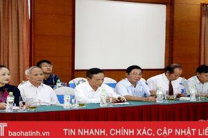 Hà Tĩnh gặp mặt kỷ niệm 70 năm ngày truyền thống ngành Kiểm tra Đảng