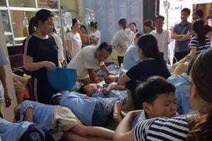 Ninh Bình: Gần 300 học sinh tiểu học nhập viện cấp cứu do bị ngộ độc