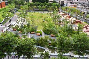 Thực hiện dự án công viên nước chống ngập nặng cho thủ đô Bangkok