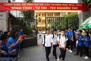 Thi vào lớp 10 ở Hà Nội: Bốn môn là phương án hợp lý