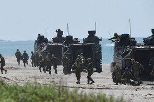 Nhật Bản lần đầu điều xe thiết giáp ra nước ngoài kể từ thế chiến 2