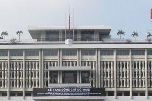 Trang nghiêm lễ viếng nguyên Tổng Bí thư Đỗ Mười tại TP.HCM