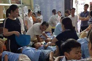 Thông tin mới nhất về vụ học sinh nghi bị ngộ độc ở Ninh Bình
