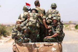 Quân đội Syria tấn công ác liệt, IS mất khu vực chiến lược ở Sweida
