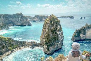 Đảo Nusa Penida đẹp như trong tranh khi mùa thu tới