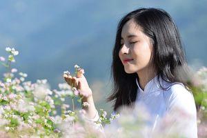 Thiếu nữ xinh đẹp bên đồi hoa tam giác mạch ở Mù Cang Chải: 'Không có ý định vào showbiz chỉ muốn làm công việc bình thường, kín đáo'