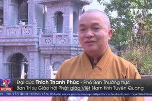 Phật tử tại Tuyên Quang tưởng niệm nguyên Tổng Bí thư Đỗ Mười