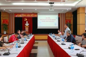Đoàn Câu lạc bộ các nhà báo Campuchia thăm, làm việc tại Báo Đầu tư