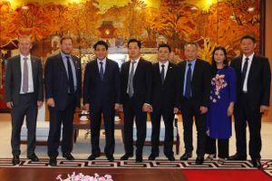 Hà Nội sẵn sàng tạo điều kiện để các doanh nghiệp Anh tới đầu tư